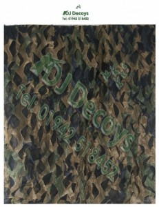 Stealth ghost net woodland camo nets 5mtr & 4mtr