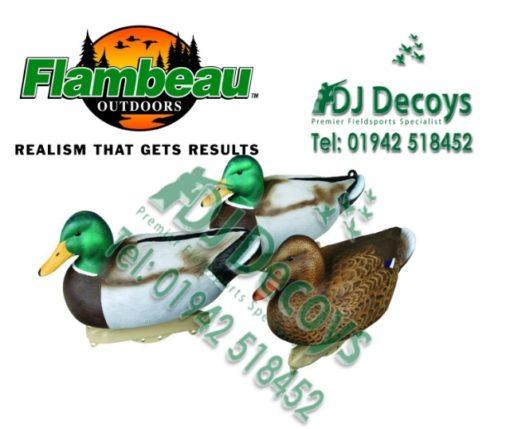 Flambeau classic mallard duck decoys pks 12 / 6