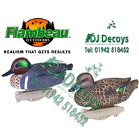 Flambeau green wing teal decoys