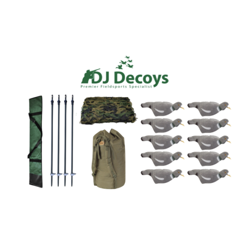 Dj Decoys Pigeon Shooters Kit no.3