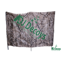 Portable reedy camo blind hide