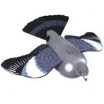 2 Flocked Full Bodied Flying Decoys Fits Magnets Bouncers