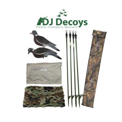 DJ Decoys Pigeon Shooters Kit no.4