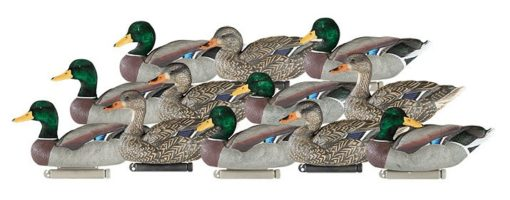 Dakota Decoy X-Treme Mallard Decoys with Painted & Flocked Heads