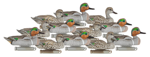 Dakota Decoy X-Treme Green wing Teal per 6 Pack